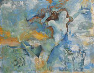 Venus de agua. Fragmentos de océano. 2016
